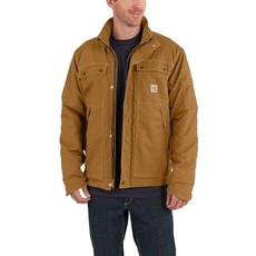 Carhartt Mens Carhartt Duck Brown FR Coat - 102182