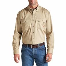 Ariat Men's Ariat FR Khaki Work Shirt
