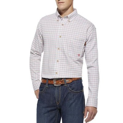 Ariat Ariat FR Shirt Men's Multi-Colored Gauge