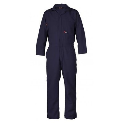 Saf-Tech Women's 4.5oz Navy Blue FR Nomex Coverall