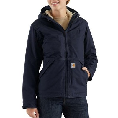 Carhartt Women's Dark Navy Full Swing FR Jacket