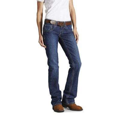 Women's FR Mid Rise Boot Blue Quartz Jeans