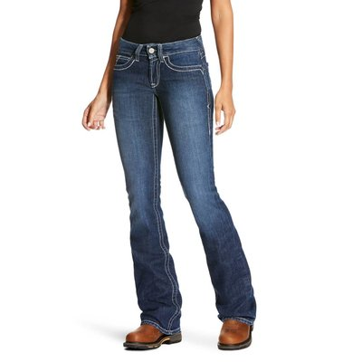 Women's FR Mid Rise Boot Crossing Jeans