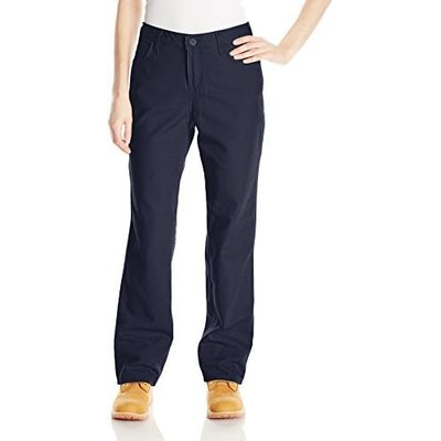 Women's FR Navy Twill Pants