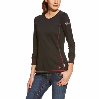 Ariat Women's FR Black Polartec Work Shirt