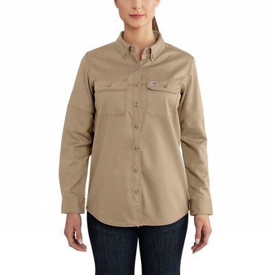 Carhartt Women's FR Khaki Work Shirt