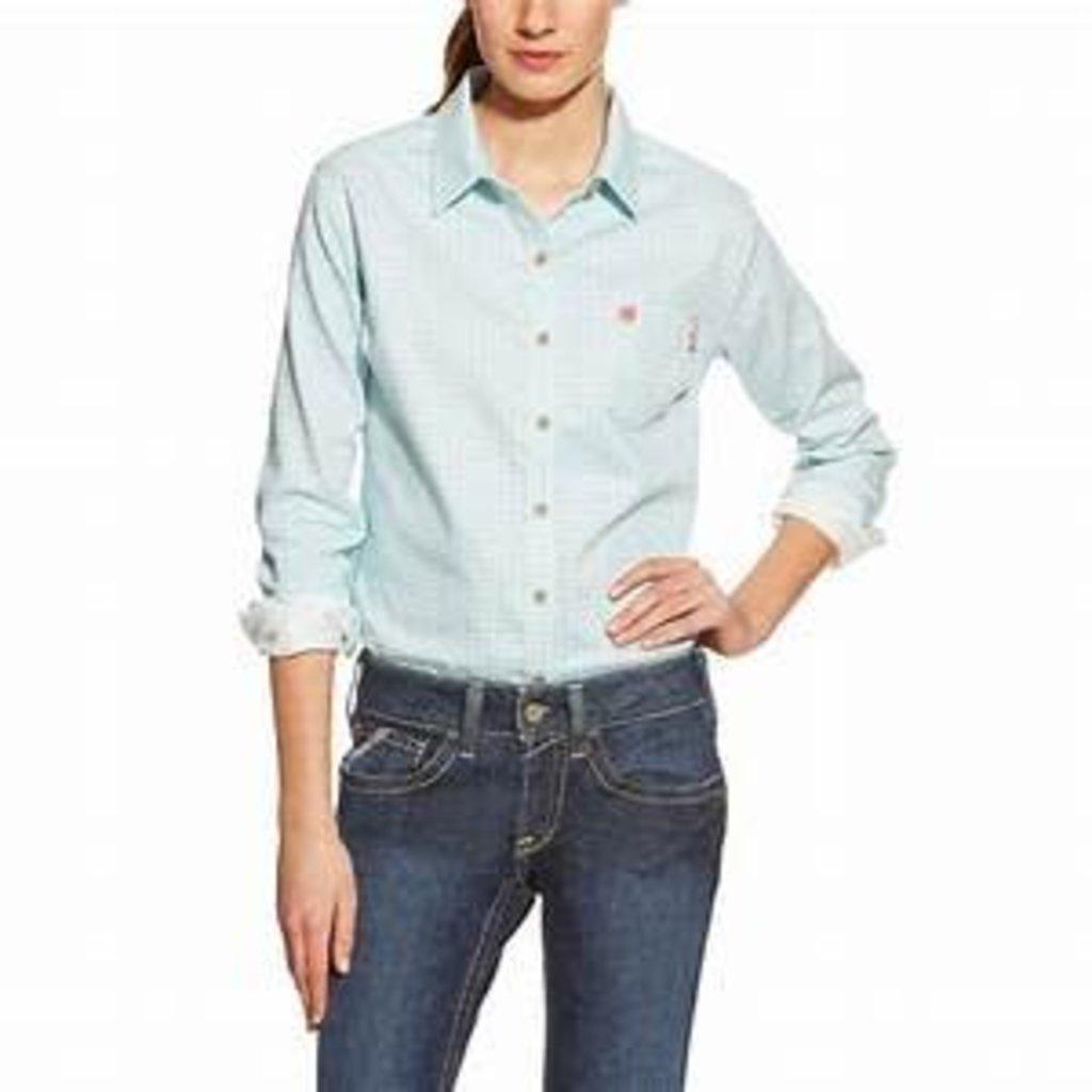 0014d5ec39a Womens FR Aqua Work Shirt - Sam s Safety Equipment
