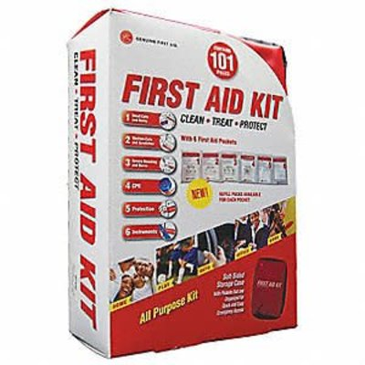 Genuine First Aid First Aid Bag 101 Pieces Genuine First Aid