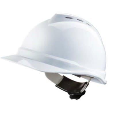 MSA MSA V-Gard 500 Protective Vented Cap - White