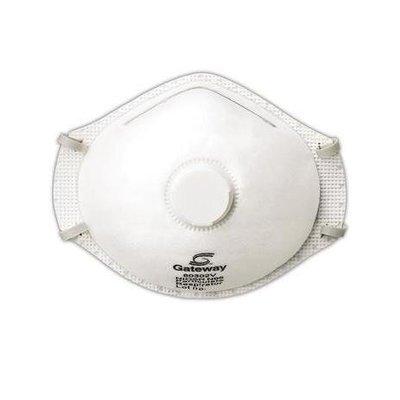 Gateway Safety Gateway Truair Respirators w/ vent - 10/bx