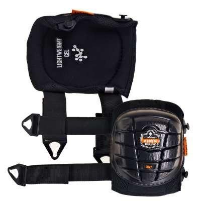Ergodyne ProFlex 357 Short Cap Lightweight Gel Knee Pad
