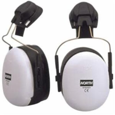 North By Honeywell Full Brim Mounted Hearing Protectors Ear Muff