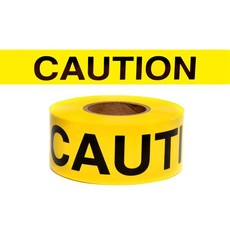 "Caution Tape Standard Duty 3""x1000'"