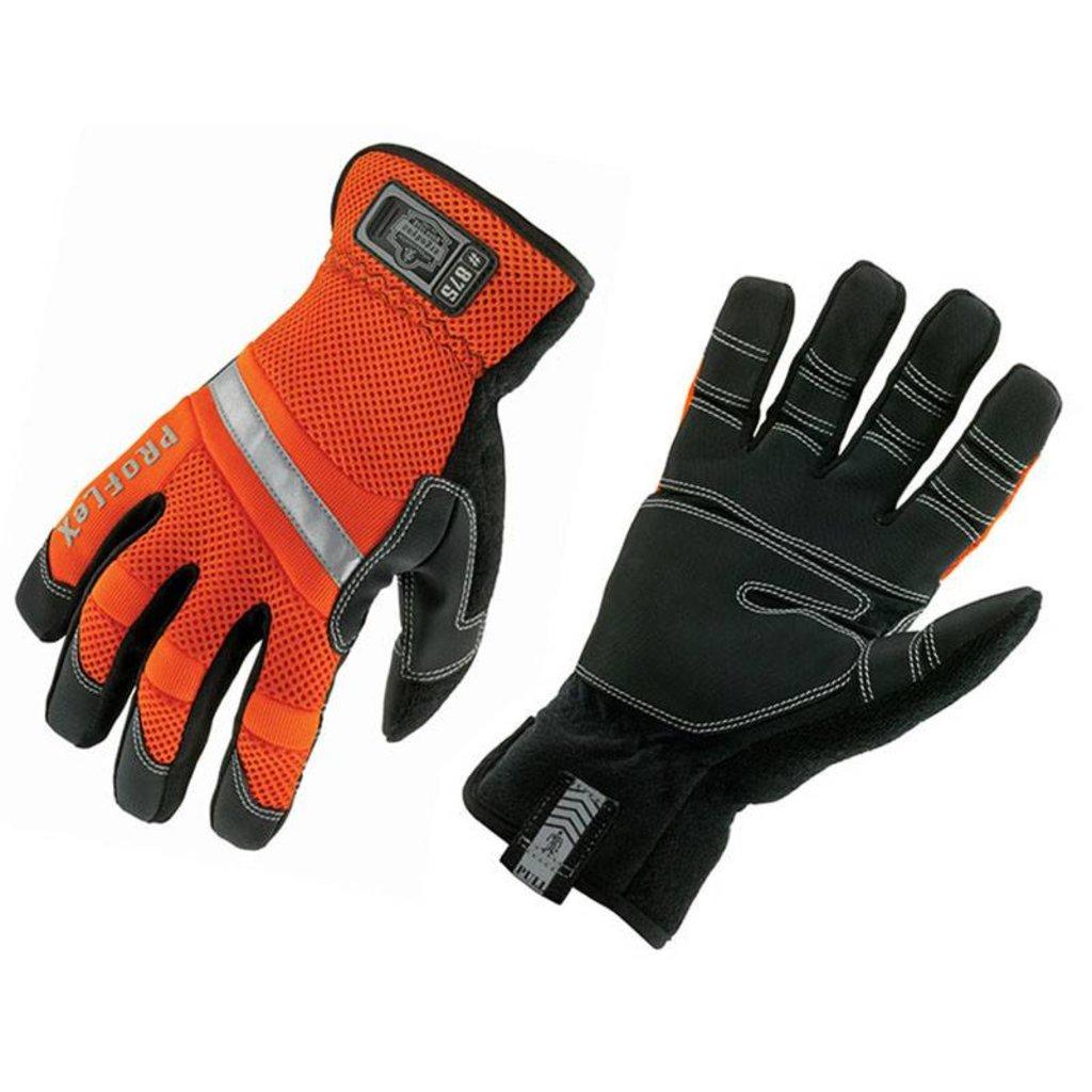 Ergodyne Hi-Vis Gauntlet Trades Gloves