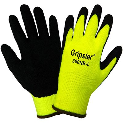 Global Glove Gripster Dipped PVC Hi Viz Glove