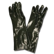 Seattle Glove Black PVC Gloves-18""