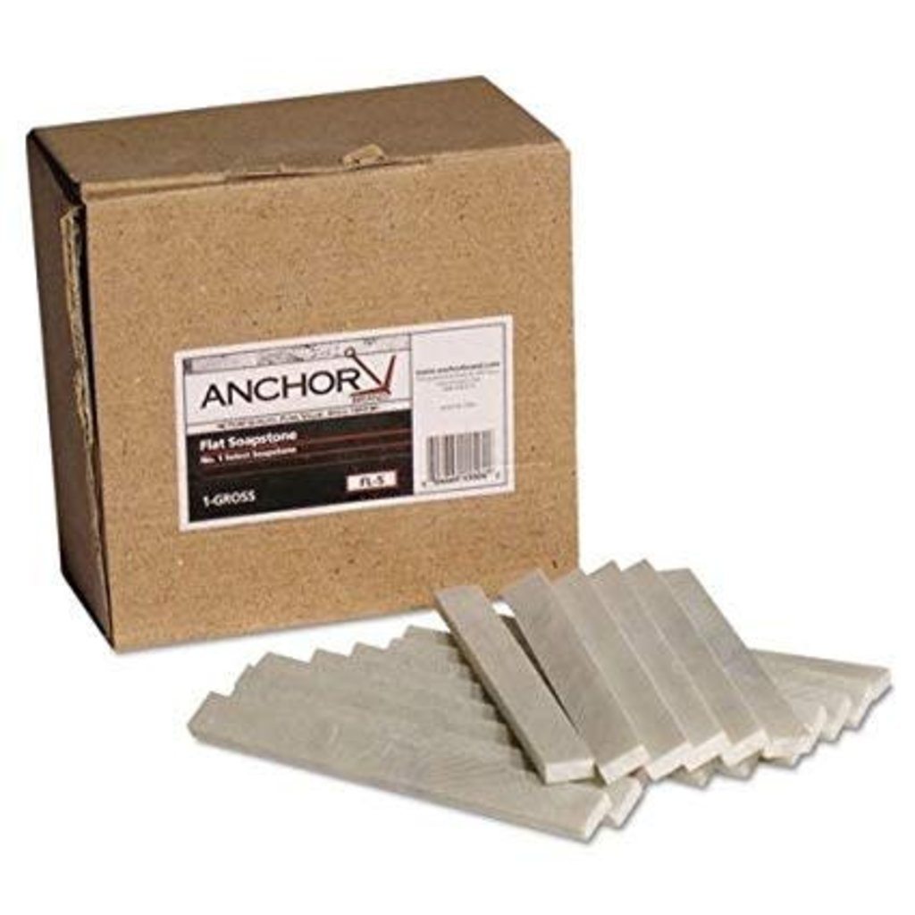Anchor Flat Soapstone-Box (144 pieces)