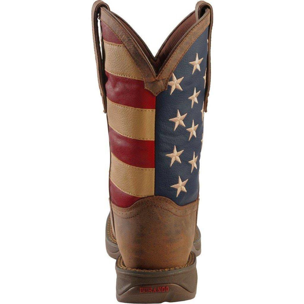 Durango American Flag Boots Durango Rebel Steel Toe - DB020