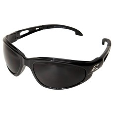Edge Eyewear Dakura Black frame Smoke Lens Safety Glasses