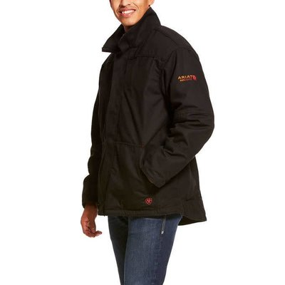 Ariat Men's FR Black Workhorse Field Jacket