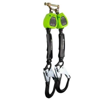 Safewaze 6' Dual Web Retractable w/ Alum. Rebar Hooks