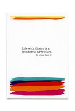 Pio Prints St. John Paul II Birthday Card