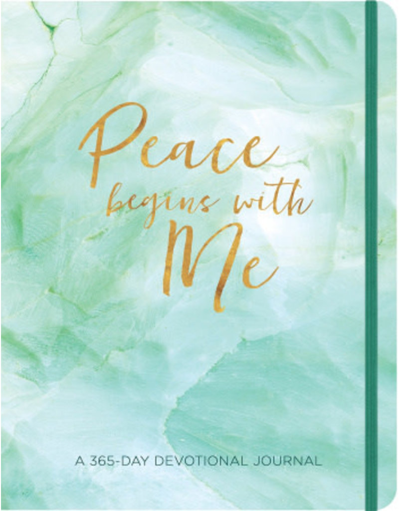 Ellie Claire Gifts Peace Begins With Me Devotional Journal