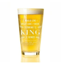 Providential Co. St. Brigid of Ireland Pint Glass