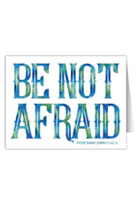 Nelson Fine Arts & Gifts Be Not Afraid Card Pack