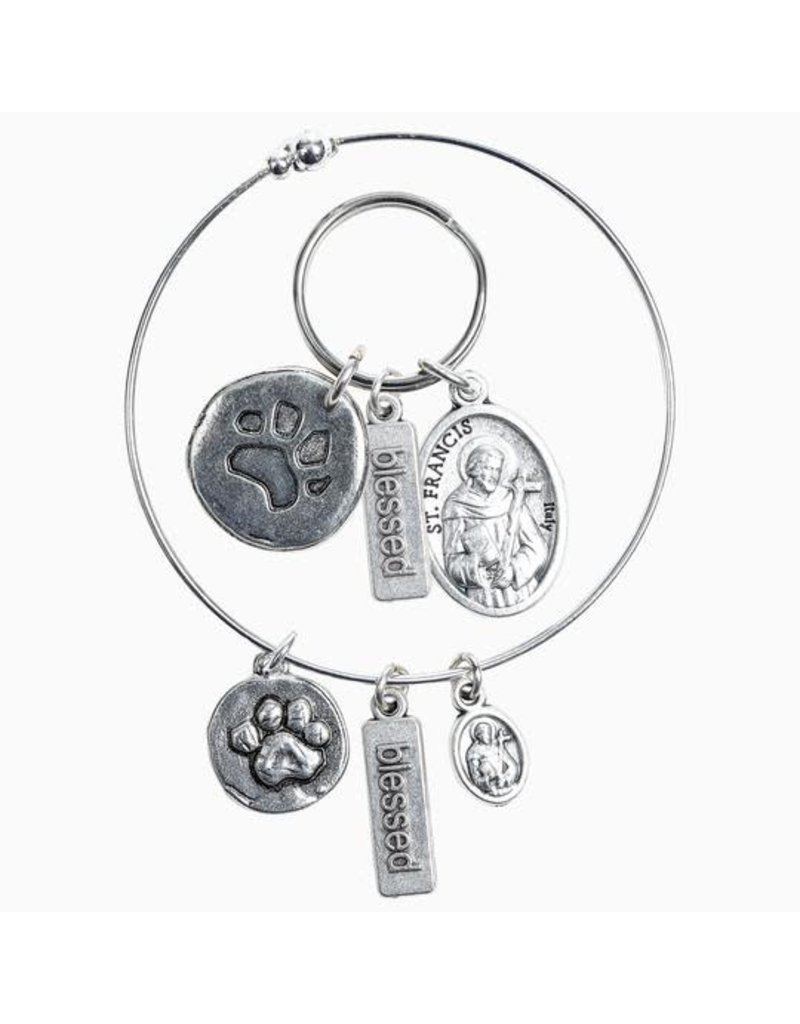 My Saint My Hero My Saint My Hero- Pet Blessing Bracelet and Collar Tag