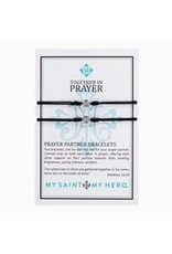 My Saint My Hero My Saint My Hero-Prayer Partner Bracelets-Black