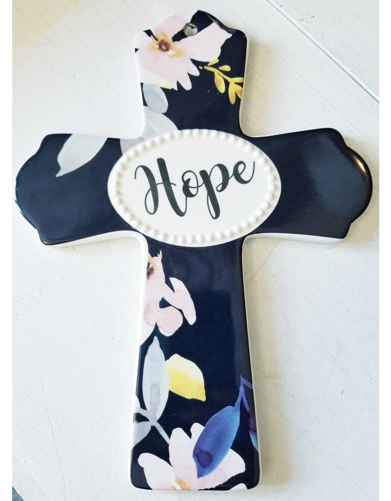 Transpac Hope Ceramic Cross