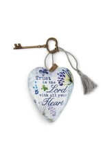 Demdaco Art Heart- Trust in The Lord