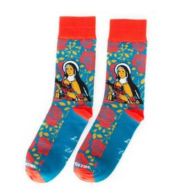 Sock Religious St. Therese socks