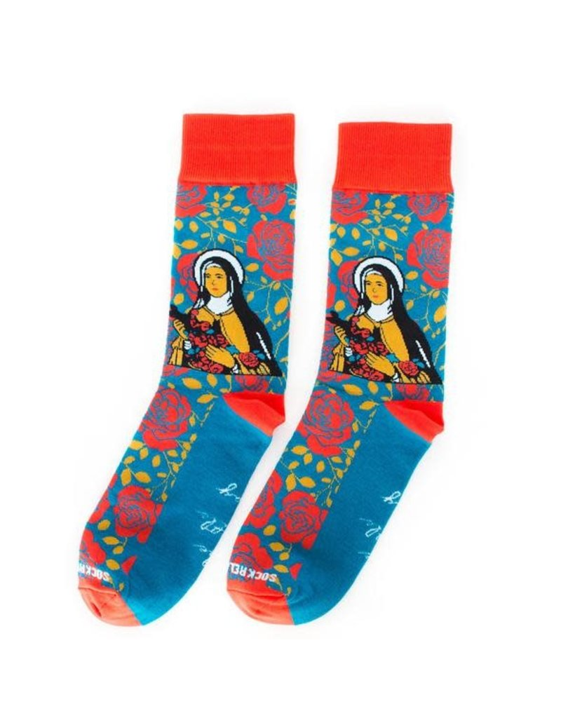 Sock Religious St. Therese socks