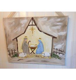Nativity Canvas--Dec. 12, 2019