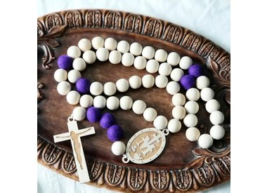 Wall Rosaries & Blessing Beads