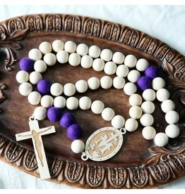 Chrism-Scented Lent Wall Rosary