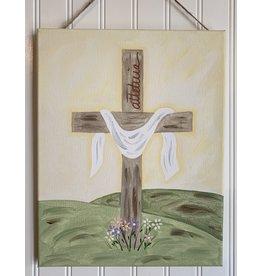 Easter Cross Painting Workshop - Mar. 21, 2020