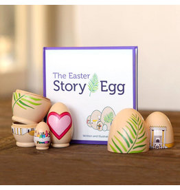 New Day The Easter Story Egg with Scripture Cards