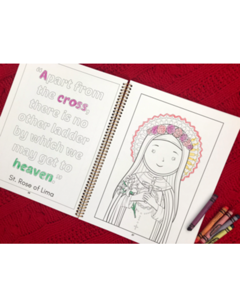 New Day Adoration Coloring Book