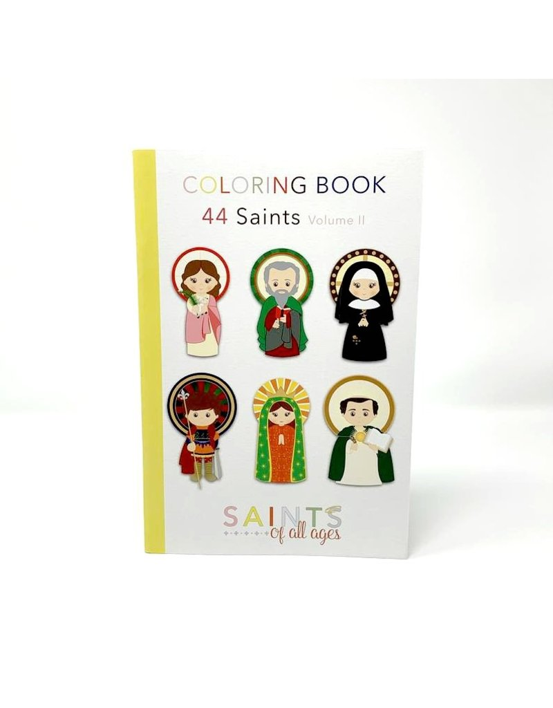 New Day Catholic Saints Coloring Book Vol. II
