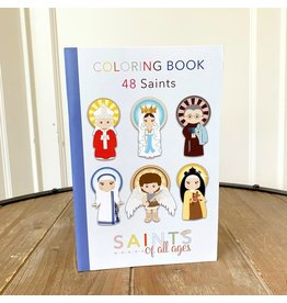 New Day Catholic Saints Coloring Book