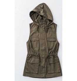 Hooded Anorak Vest