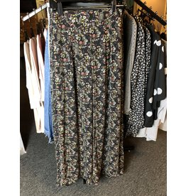 Downeast Floral Wide Leg Pant