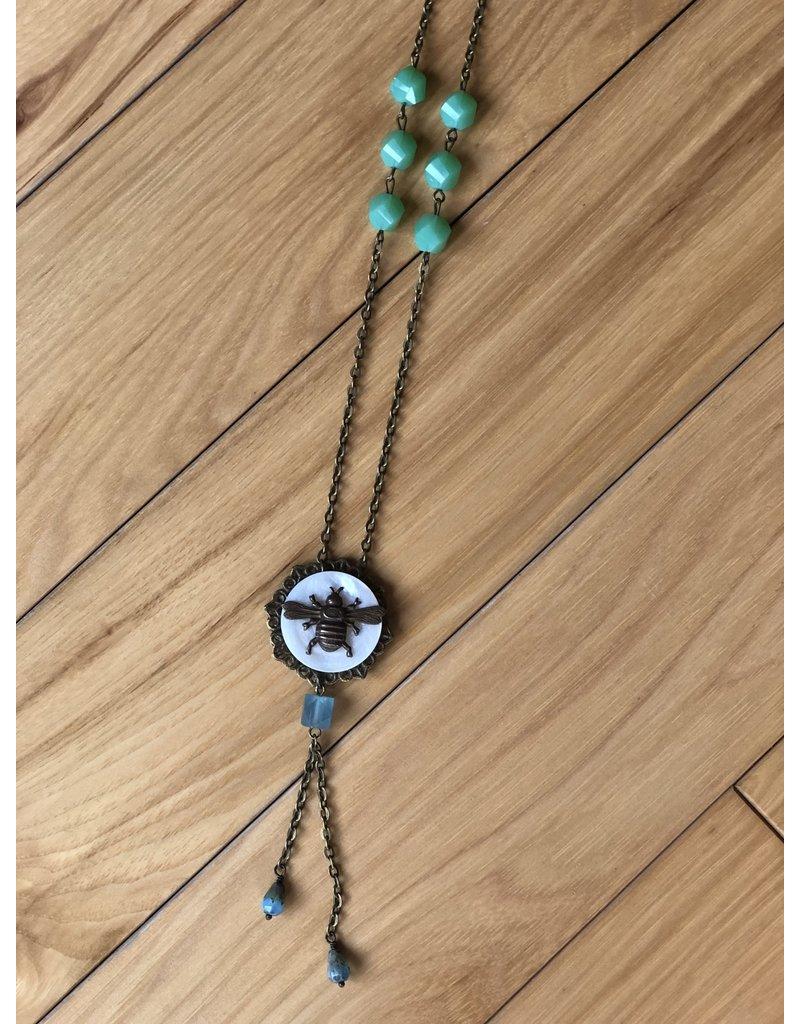 Notion Custom Bee Necklace