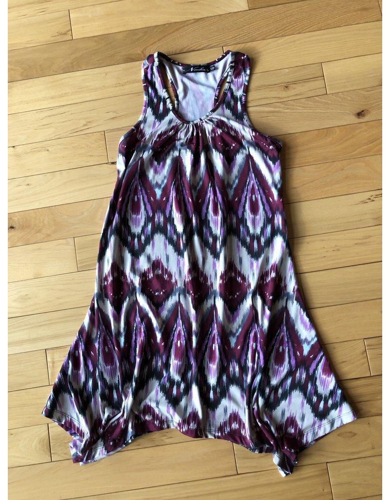 Neesha TC TBack Assemetrical Dress/Tunic S/M