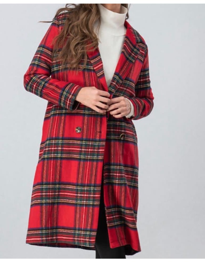 Trend Notes Holiday Long Jacket