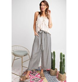 Relish Tie Waist Striped Pant