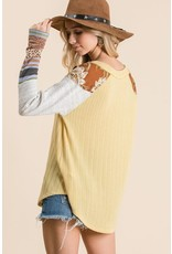 Relish L/S Textured Top